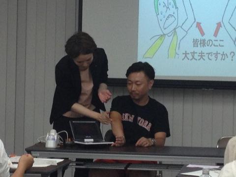 インストラクター西村さんと古江