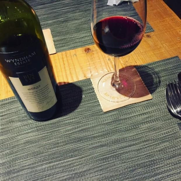 『トリプル ファイブ』赤ワイン♡ めっちゃ飲みやすいんです♪