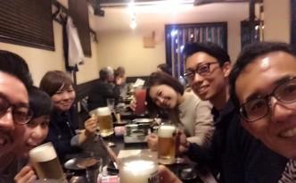 みんなで乾杯!(^^)!