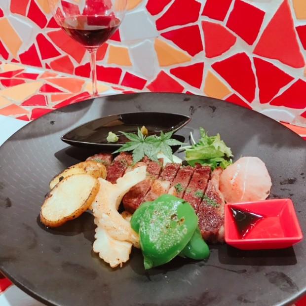 お肉もお野菜も うんまい( *´艸`)