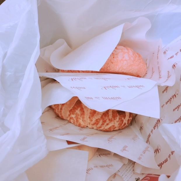 呉にあるお店?! メロンパンたくさん 頂きました(⋈◍>◡<◍)。✧♡