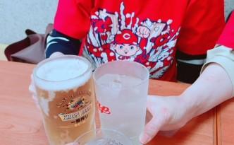 三連覇おめでとう!! 乾杯~(#^.^#)
