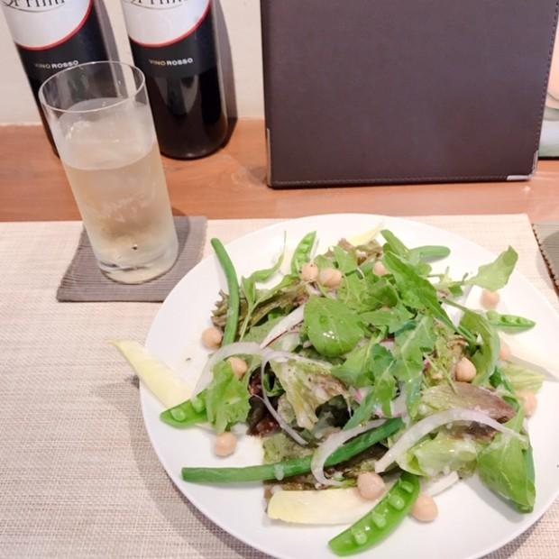 野菜多め&タンパク質・・・ 食事のバランス大事です(⋈◍>◡<◍)。✧♡