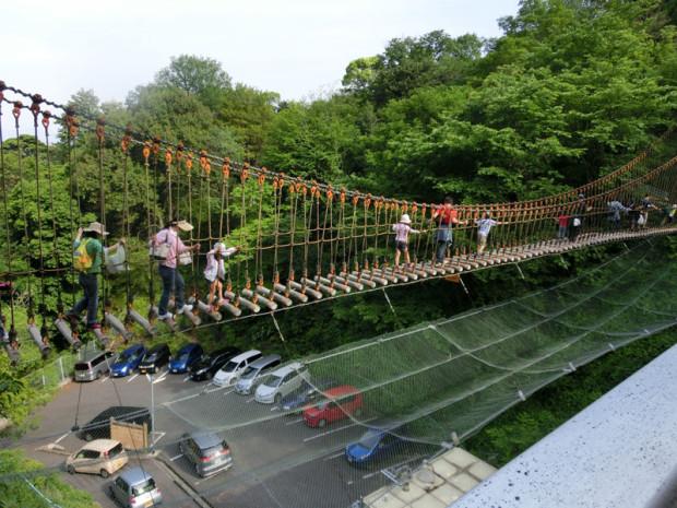 三滝冒険橋