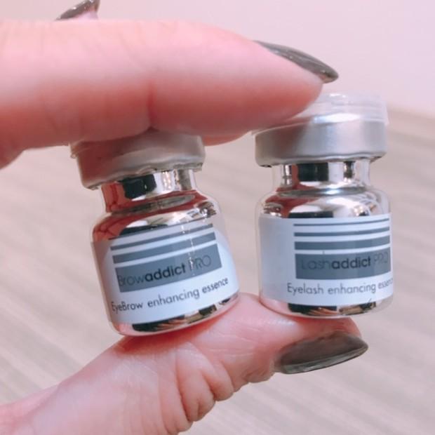目元専用の美容機器を 使って濃度10倍の美容液を導入していきます。